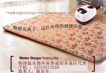 韩国温水循环水暖床垫无声锅炉