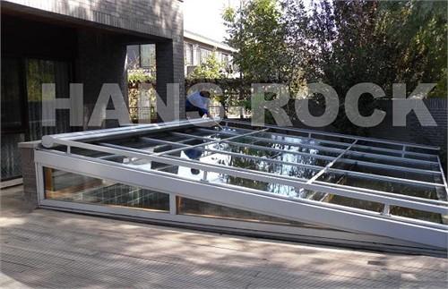 下沉式庭院铝木复合阳光房