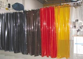 PVC遮弧帘、焊接防护屏
