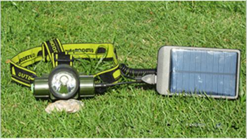 太阳能头灯,LED充电头灯