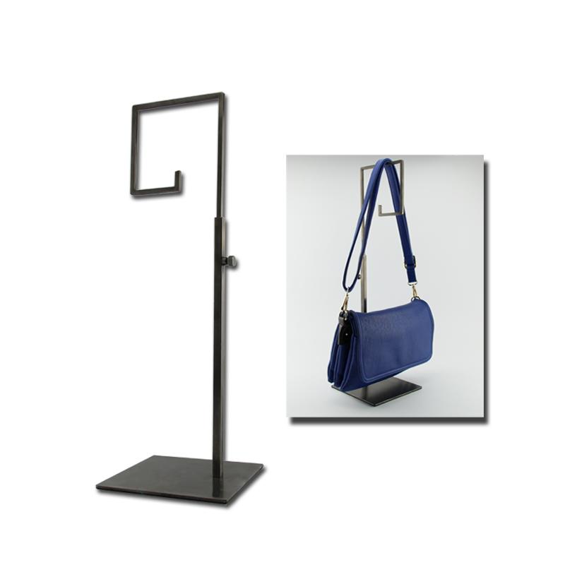 挂包架展示架 包包展架专用展架 不锈钢展示架黑色展架