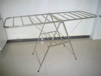 2011B  X型全不锈钢折合式伸缩衣架