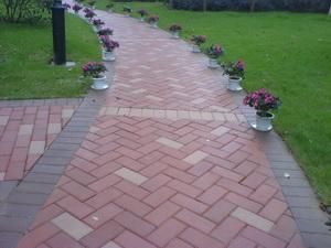 彩色道板砖、广场砖、透水砖、盲道砖