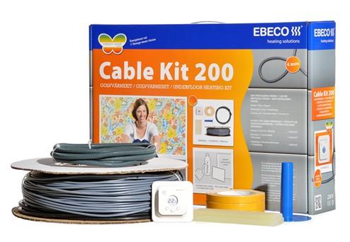 瑞典EBECO意贝科Cable Kit 200发热电缆电地暖