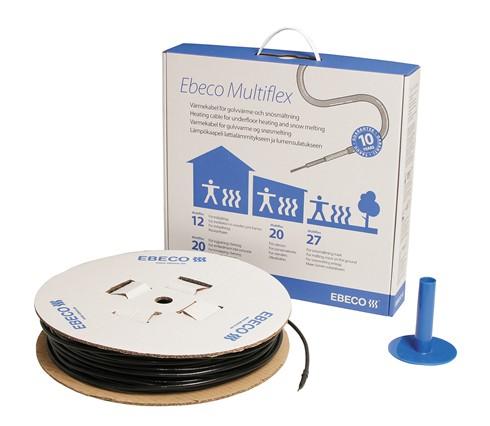 瑞典EBECO意贝科Multiflex 20高性能电热恒温地暖系统